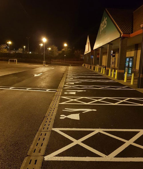 City Road Markings